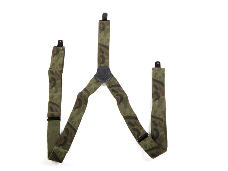 MFH Bretelle militari uomo elastico regolabile Flecktarn
