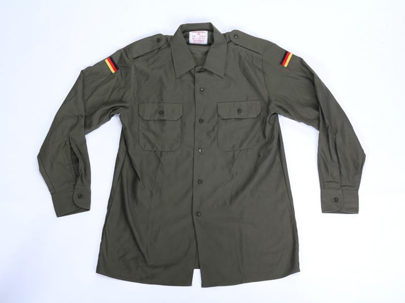 Giacca verde militare bandiera tedesca