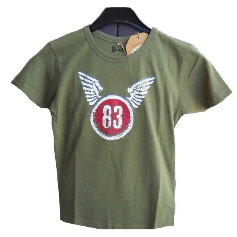 Maglia t shirt maglietta mezze maniche corte bimbo bambino bambina sportiva  ... a2839f7c1da