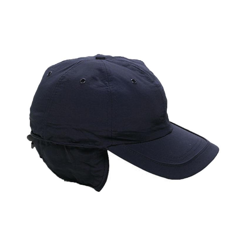 Cappello cappellino nylon pile copriorecchie invernale neve sportivo visiera a3bc24635d44