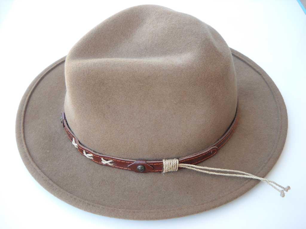Cappello copricapo uomo feltro lana merinos invernale cowboy caccia country  ... 47569f25ce74