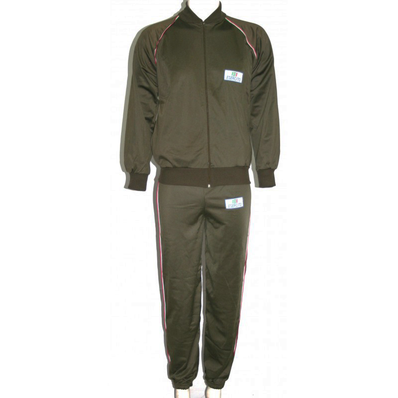 f24323f1593014 Tuta completo ginnastica esercito italiano militare uomo corsa sport ...