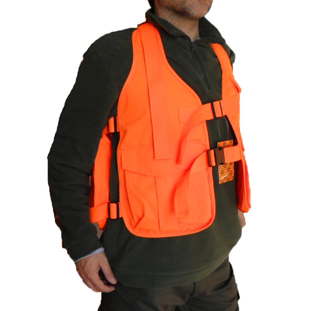 Giubbotto arancione caccia