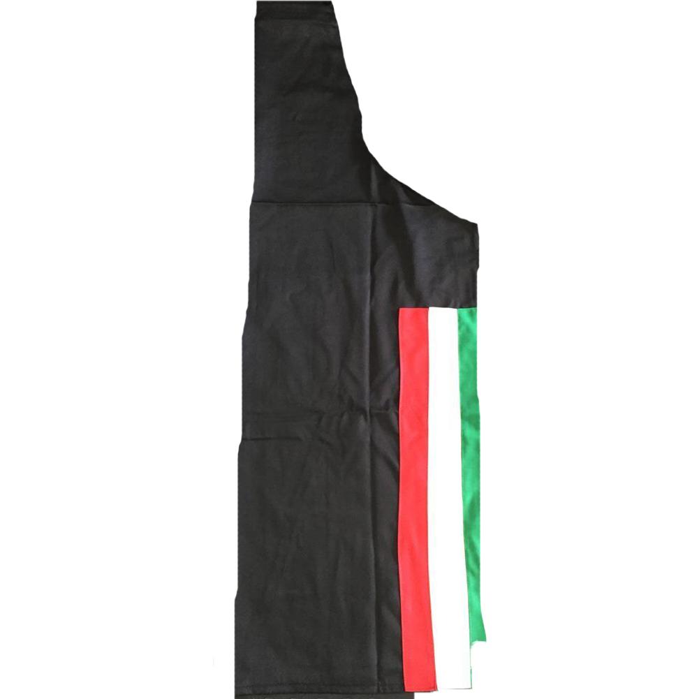 412396d5cff Delantal de cocina tricolore italia italiano camisetas de la bandera de  restaurante y pizzería ...