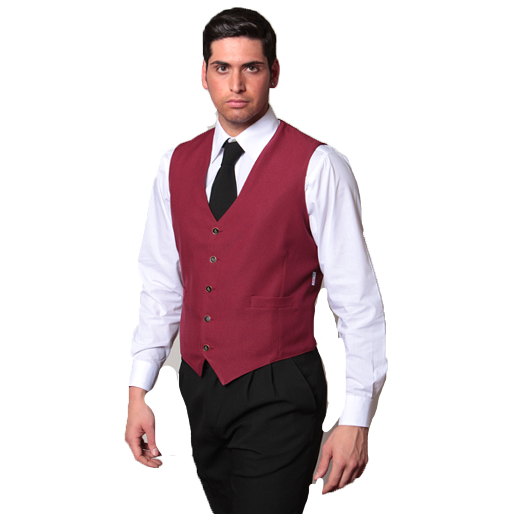 AB033 - Gilet uomo e donna - fratelliditalia abbigliamento militare e  softair e abiti da lavoro - Gilet uomo lavoro cameriere bar barista sala  ristorante ... 0517d91d7964