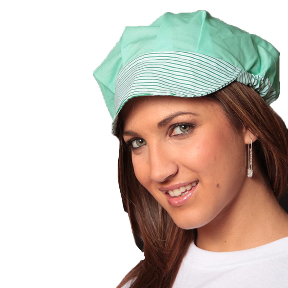 8b02a6367d0d Cappello berretto alimentare donna ristorazione cucina bar pizzeria lavoro  ...