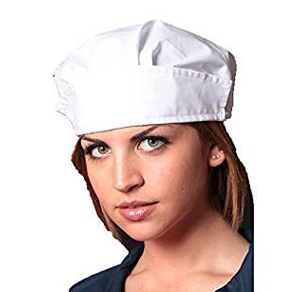 Cuffia lavoro cappellino cotone operaia cucina alimentari igiene protezione a09edbb953d3
