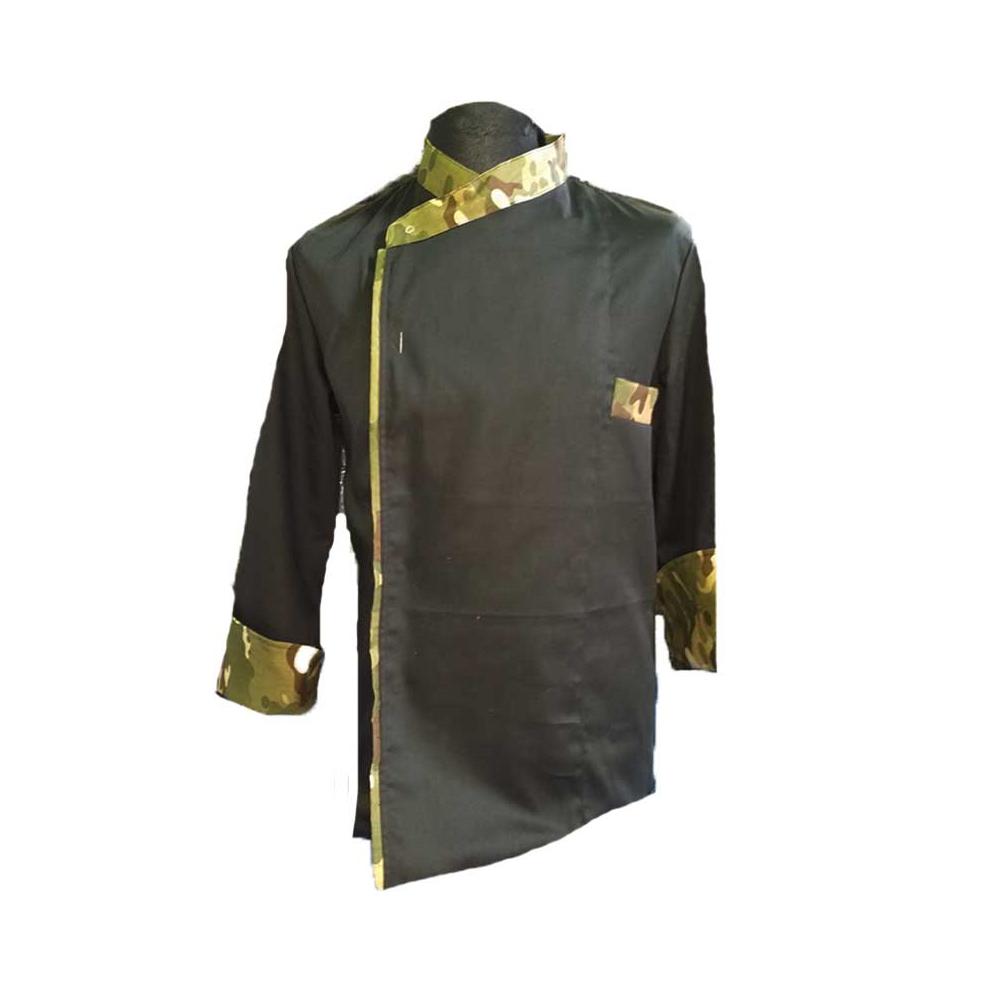 Giacca casacca divisa da cuoco mimetica chef cucina ristorazione pizzeria  ... 96043fa9026b