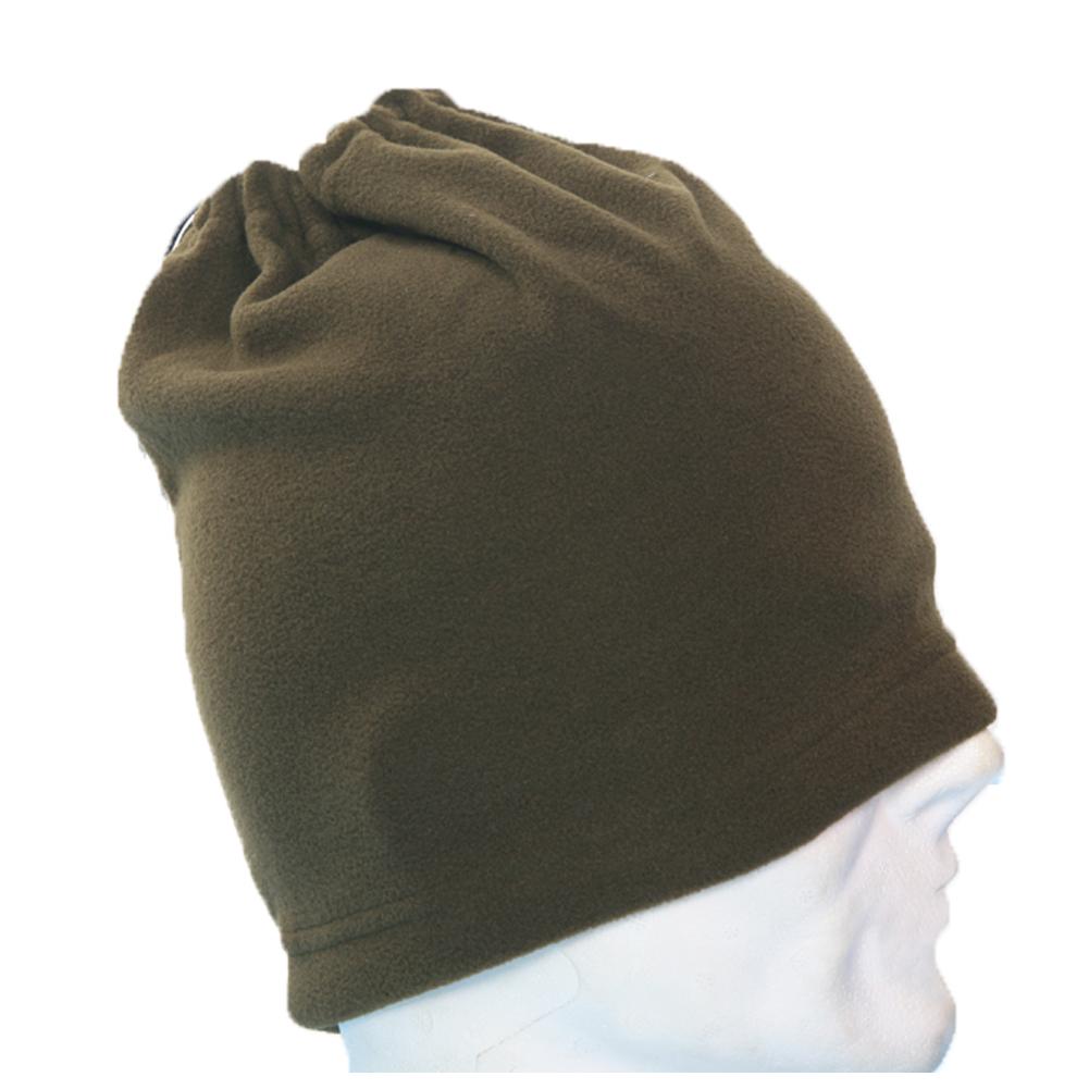 Scaldacollo pile con laccio invernale neve un cappello colori verde blu ... 3d1ef0f878ed