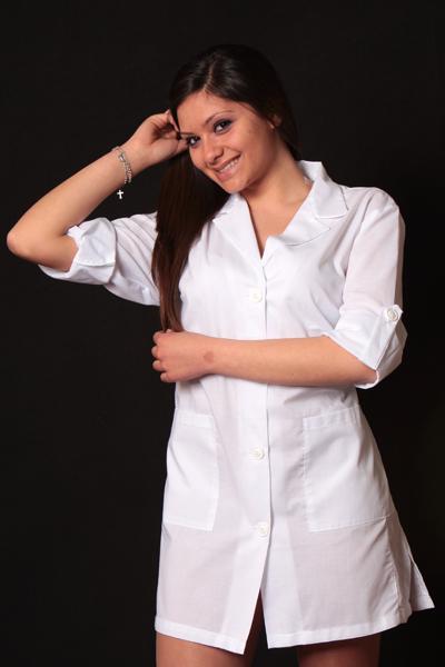 Camice casacca donna lavoro pulizie maestra supermercato scuola asilo