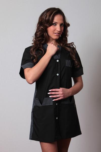Camice casacca donna divisa parrucchiera estetista massaggi benessere