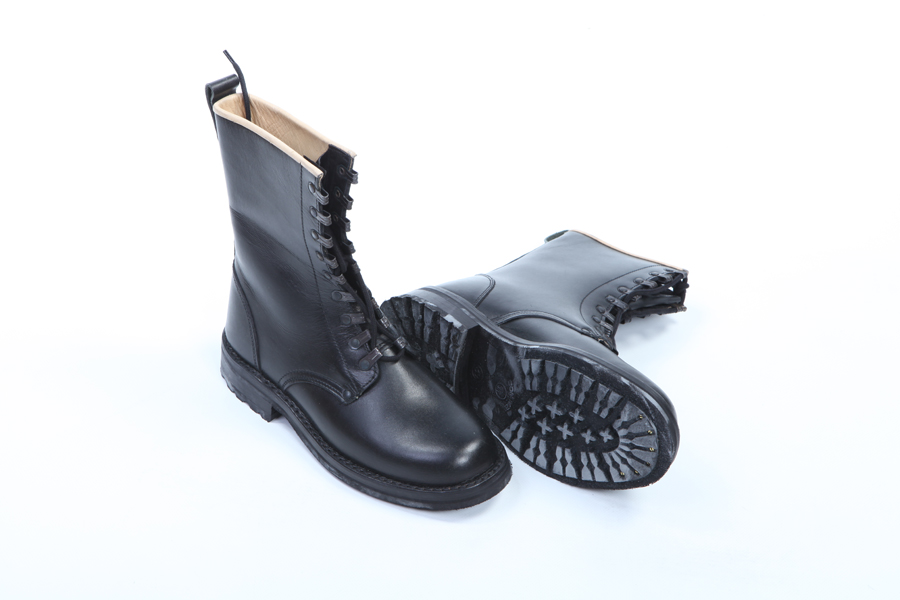 Amphibian boots ankle boots genuine leather old model police military