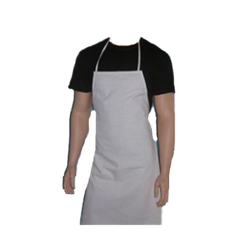 138fdi12 Grembiuli Cucina Fratelliditalia Abbigliamento Militare E Softair E Abiti Da Lavoro Grembiule Paravanti In Tessuto Poly Cotone Con Tasche Misura Unica Bianco