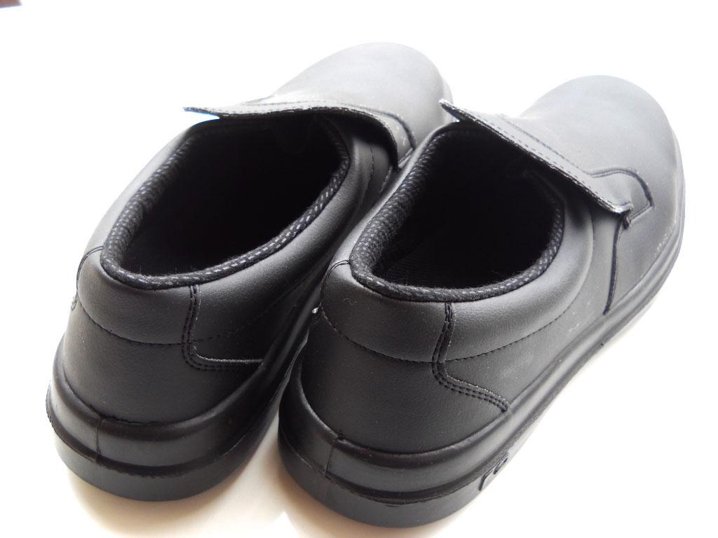 scarpe mocassini antinfortunistica nere cucina puntale sicurezza lavoro