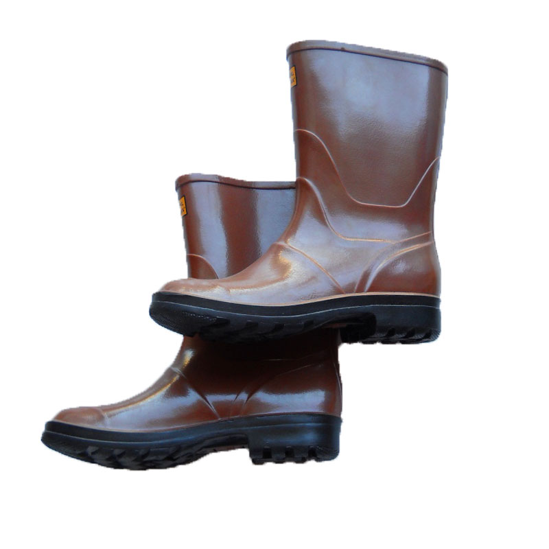 Boots ankle boots booties brown rain non slip work rain
