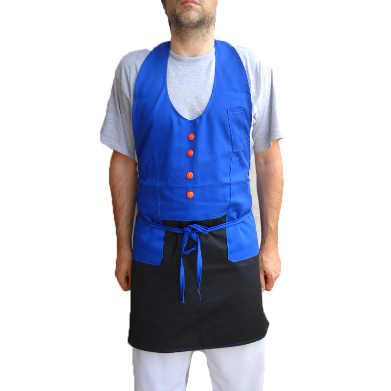Apron protection room kitchen, bar, pizzeria man woman inter juve roma