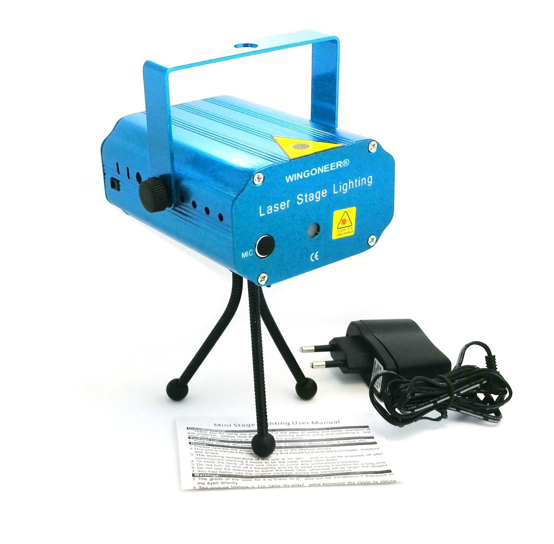 Mini Proiettore Effetto Luci Laser Per Disco Discoteca Dj.Frt 000001386 Illuminazione Fratelliditalia Abbigliamento