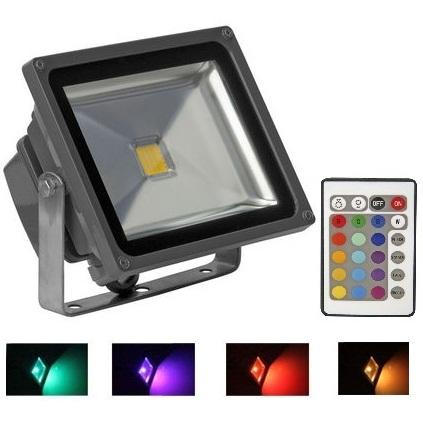 ... Led spotlight rgb beacon light 10w 20w 30w 50w outdoor color lighting  ... 9a3d0d81e8eb
