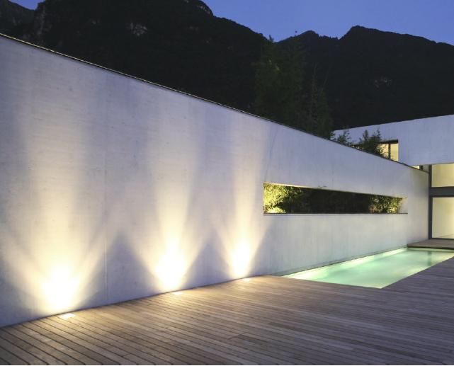 Illuminazione per esterno da terra illuminazione per esterni