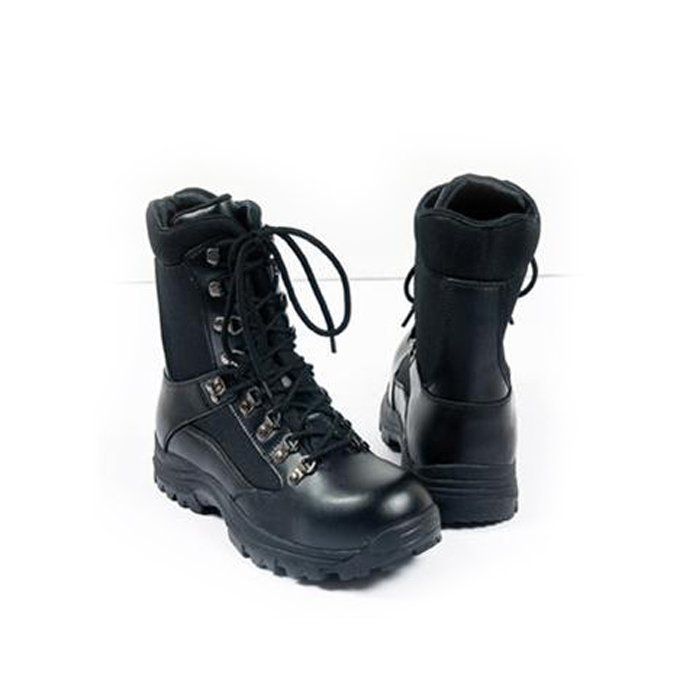 Booties amphibians security high black leather thinsulate padded winter man