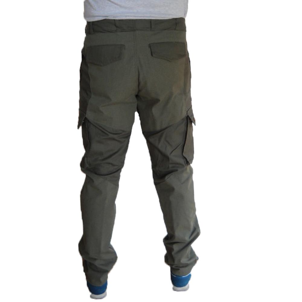 d32db0072275 ... Pantalone kevlar caccia abbigliamento ignifugo pesca antistrappo taglie  forti ...