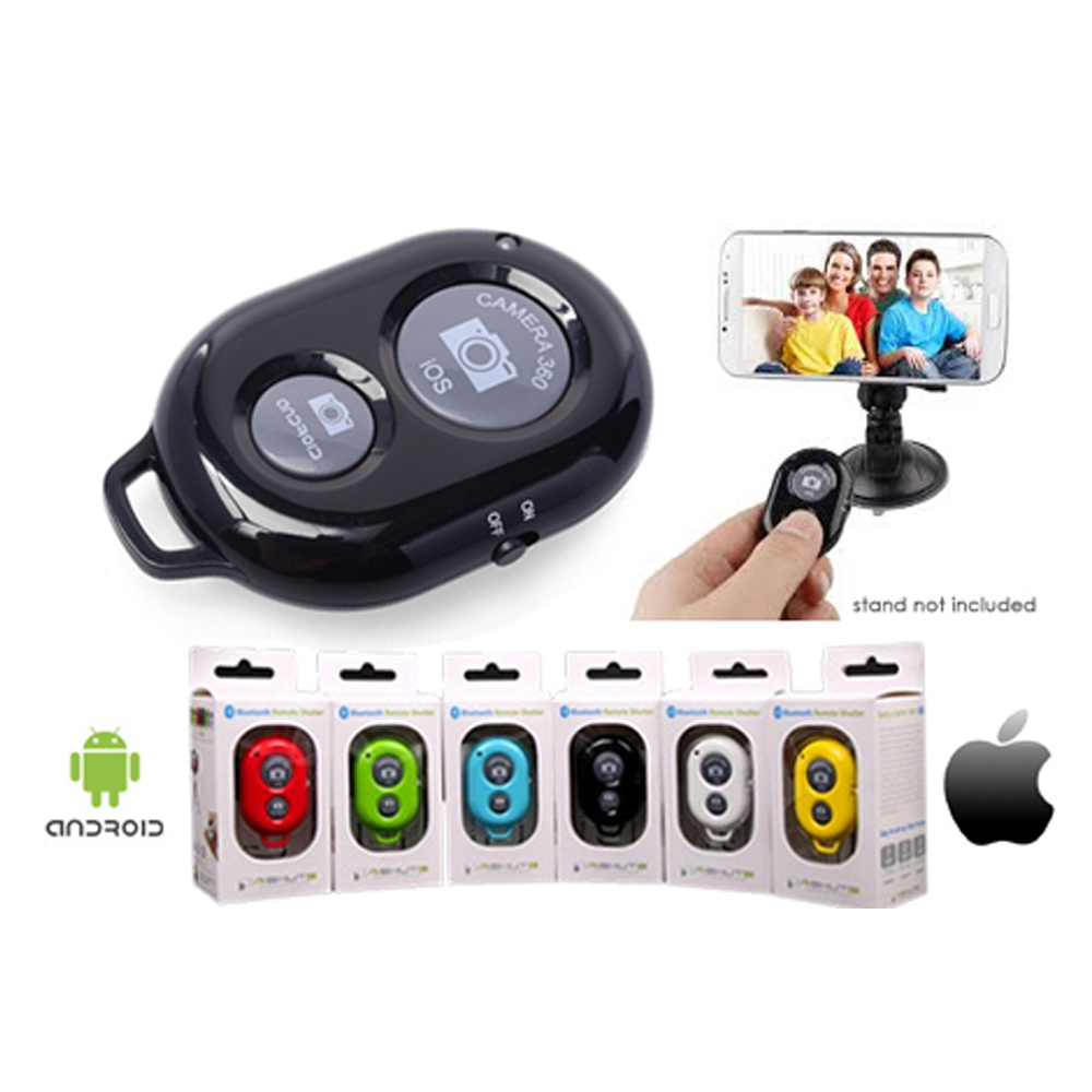 Bluetooth shutter selfie remote smartphone cell phone android phone remote control