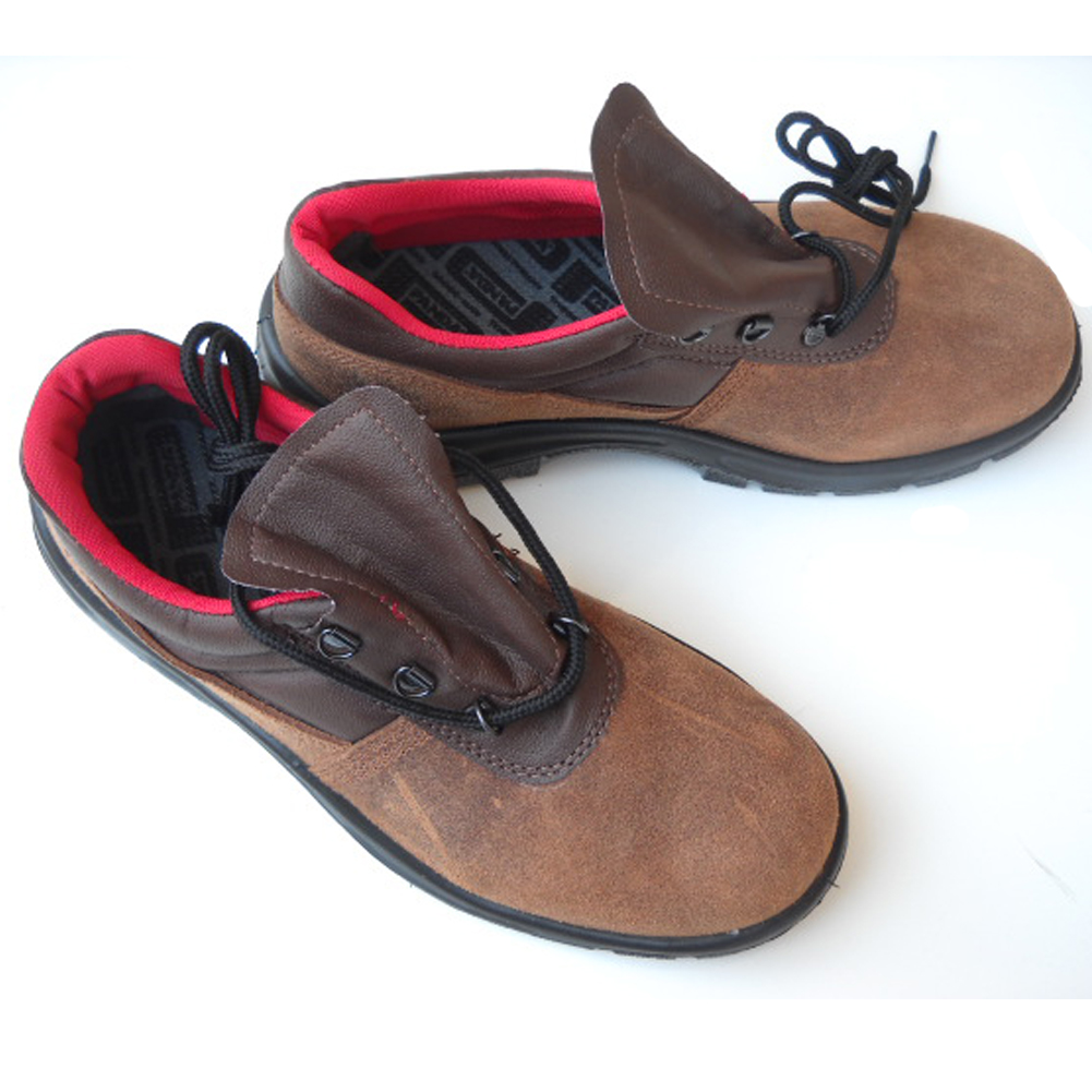 Shoes shoes accident prevention work toe cap steel suede safety