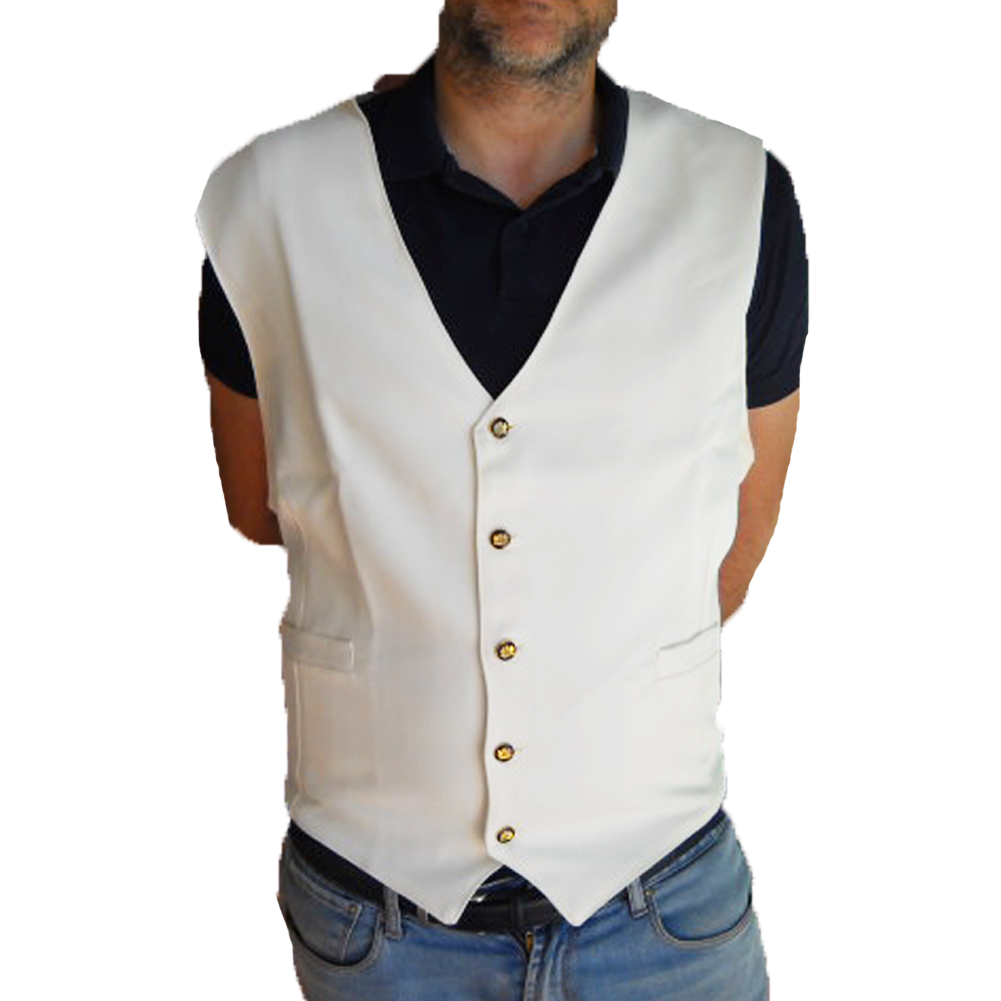 Gilet man, bartender, wine waiter, bar, bartender paragilet cotton restaurant