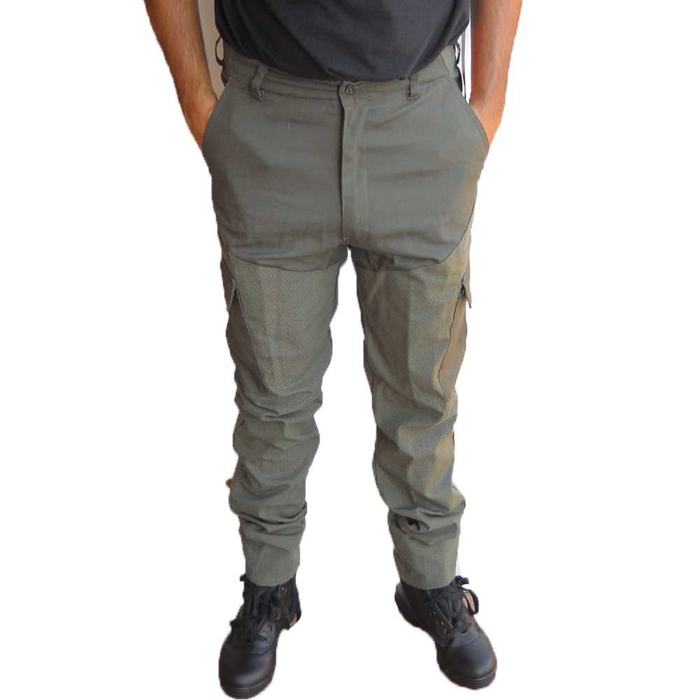 Pants trousers, kevlar canvas hunting waterproof clothing man