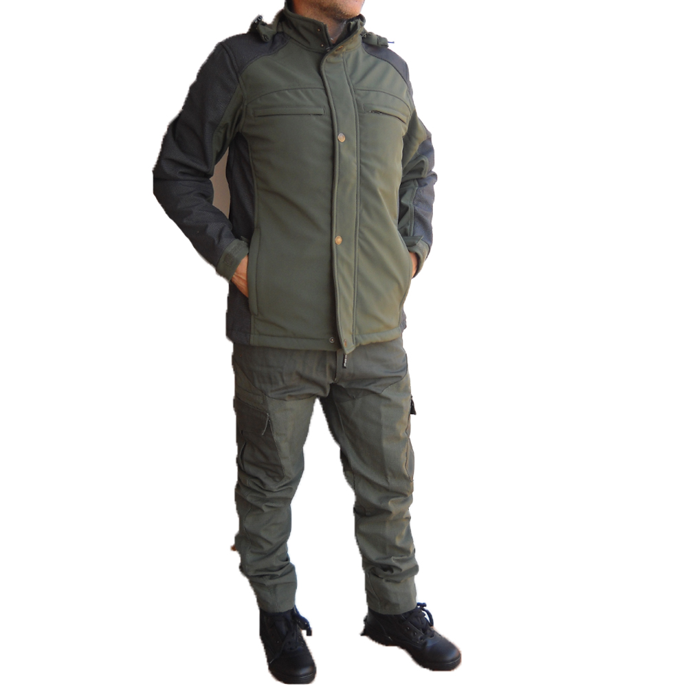 Jacket jacket kevlar softshell bike hunting, durable, waterproof winter