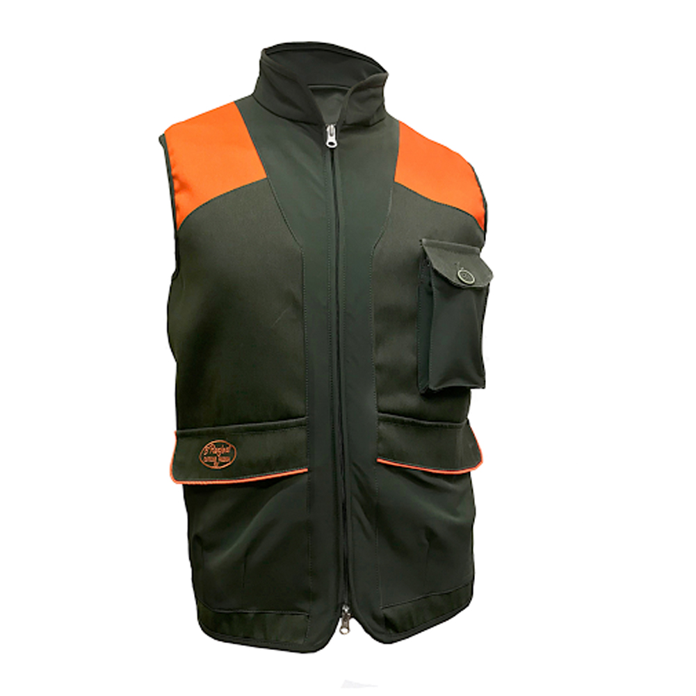 Vest-hunting green, orange cordura waterproof clothing hunter nylon