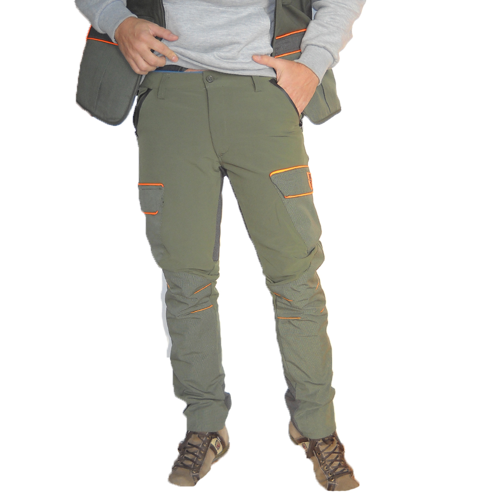 Waterproof trousers pants tear-proof stretch slim hunting kevlar