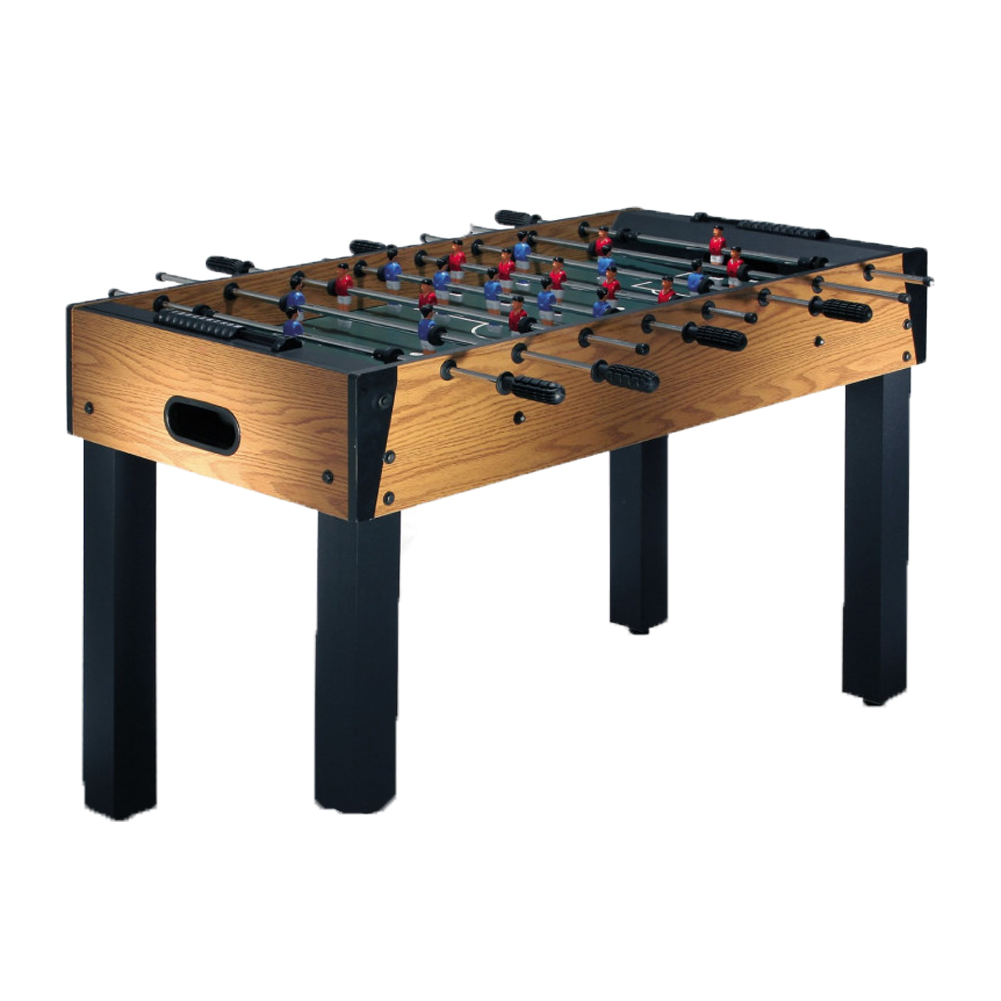 Table football soccer foosball table field table football in the games room bar wood