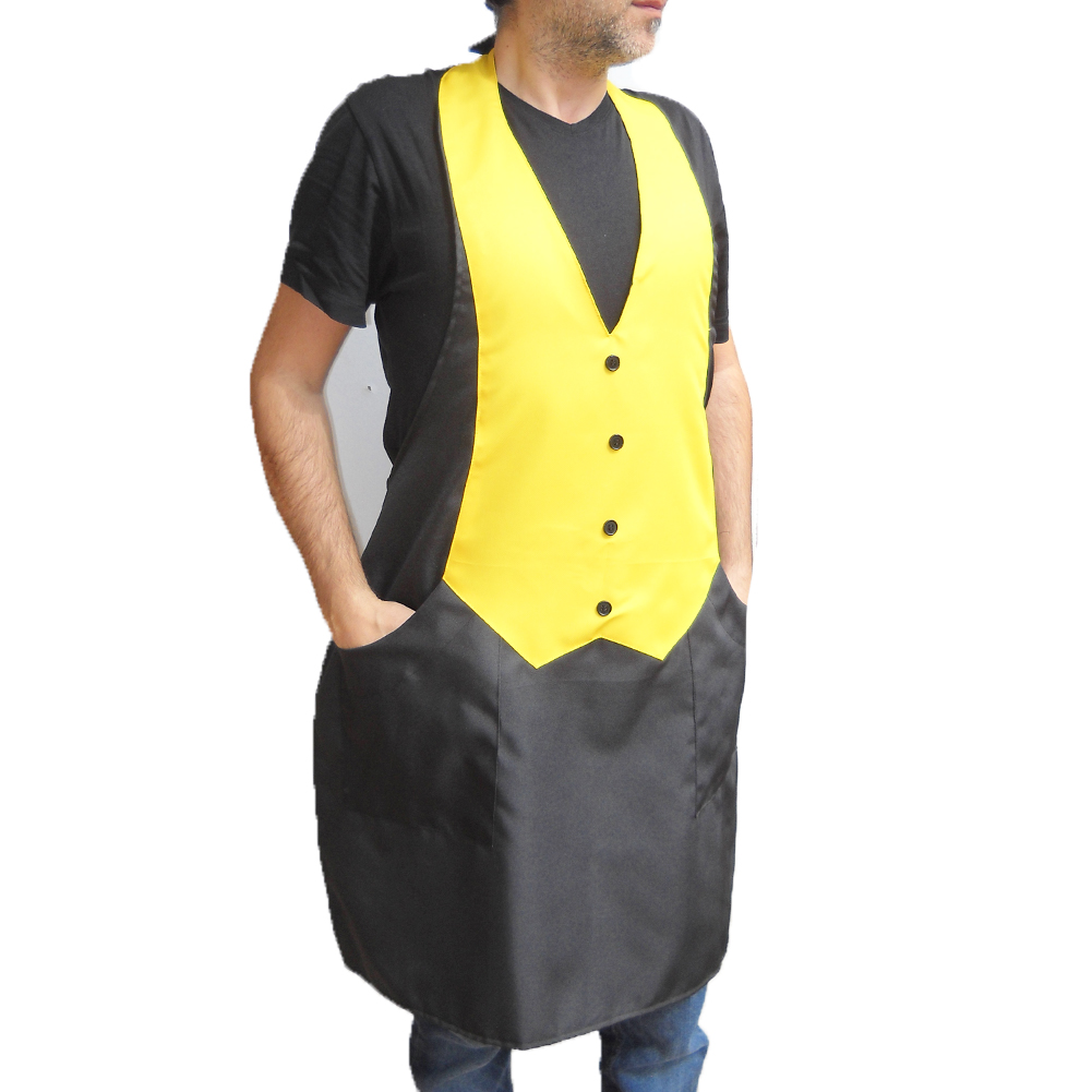 Apron vest paragilet harness bar, restaurant, ice cream parlor waiter job