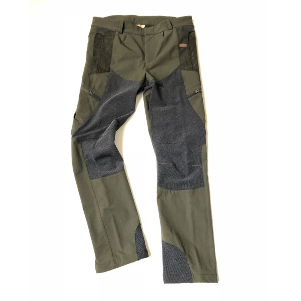 Pants hunting trousers with reinforced nylon elastic, tear-proof polyamide sports