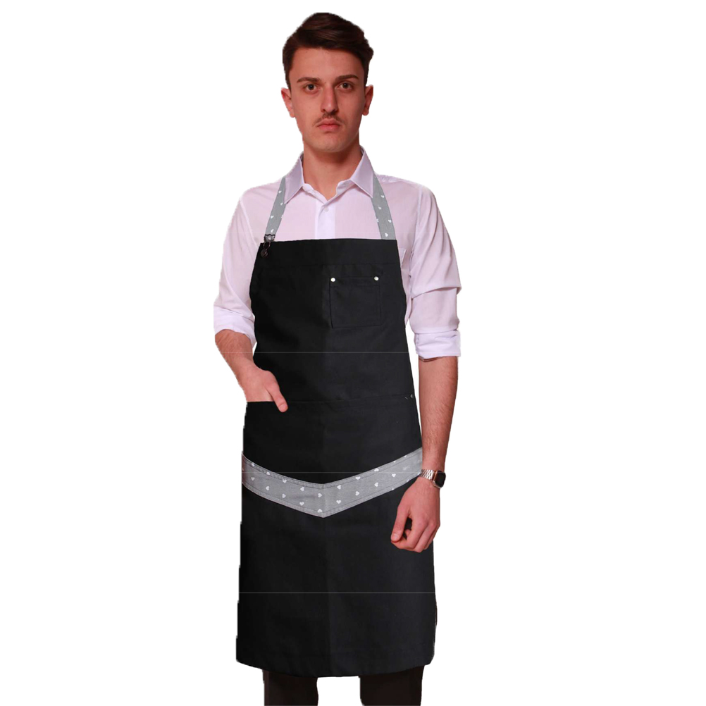 Apron waiter uniform restaurant working the pubs and delicatessen man ice cream