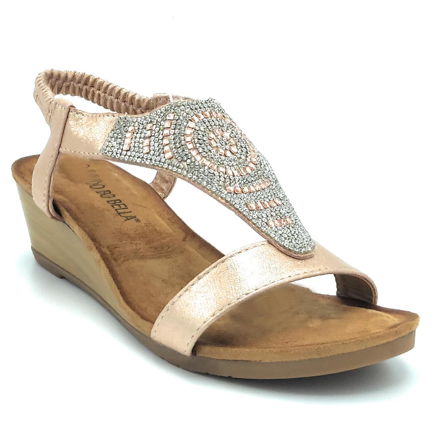 Sandals shoes jewel moda mare positano style comfortable low summer woman