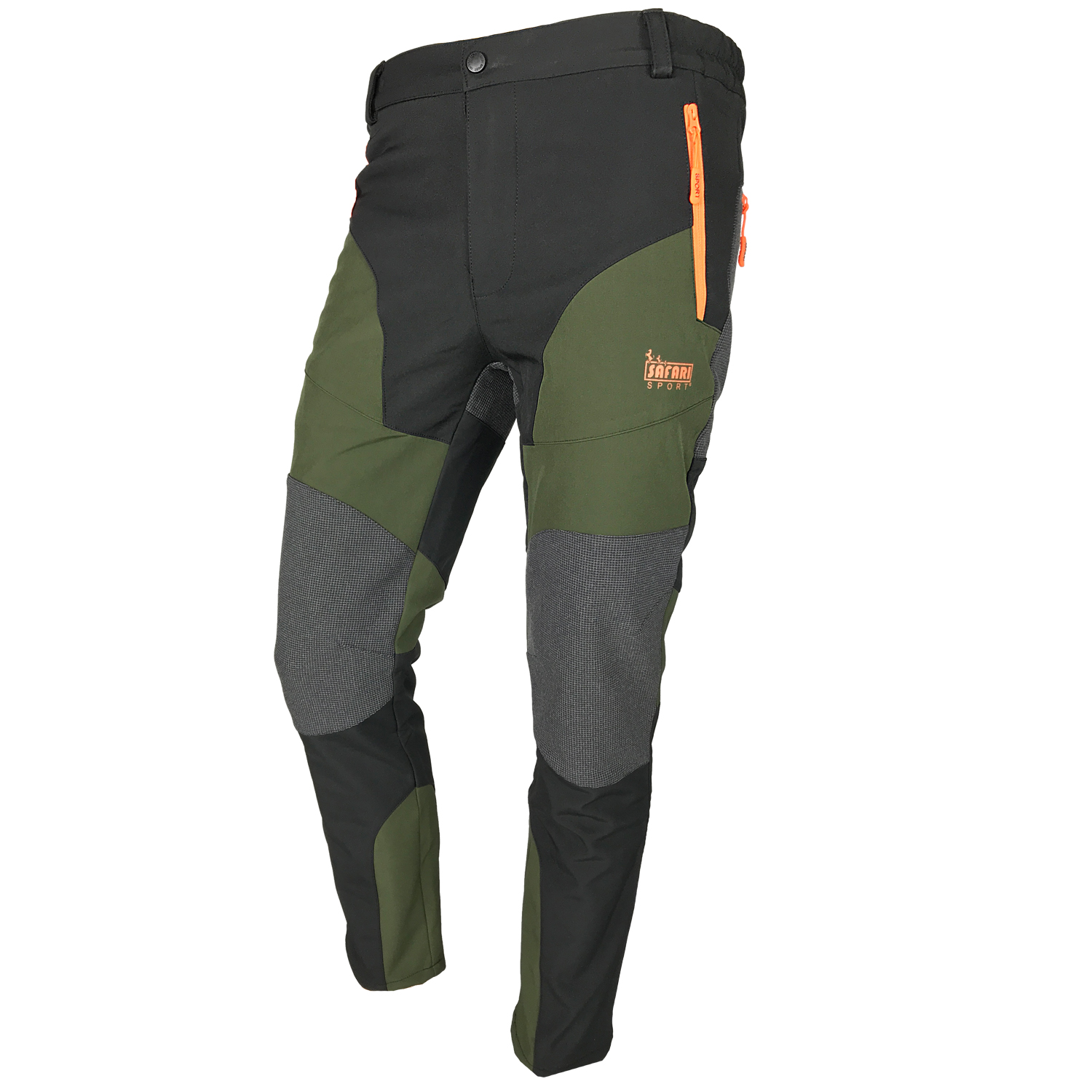Pants trousers hunting men outdoor softshell water repellent spandex rain