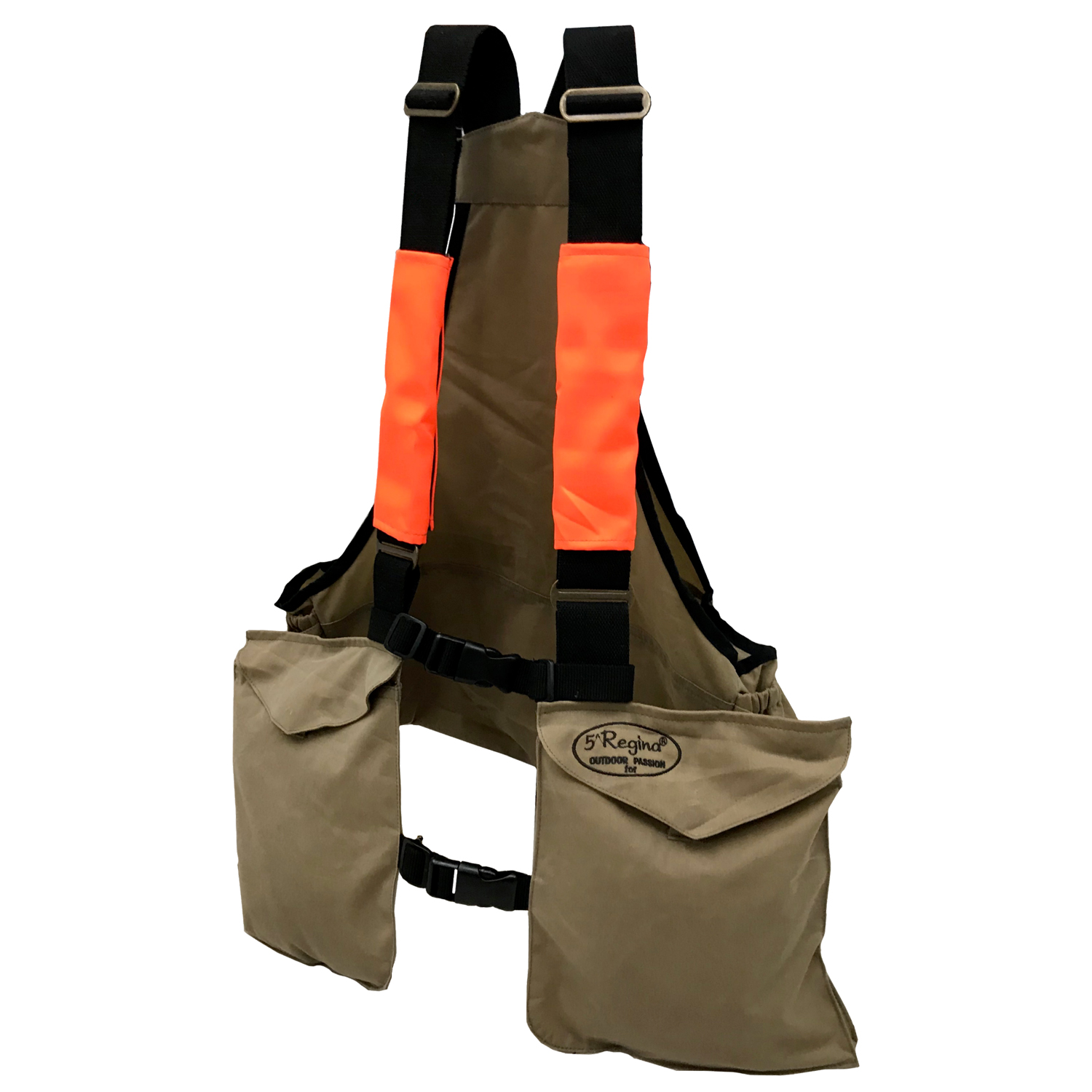 Trisacca orange bottle holder hunting pockets durable abrasion the bag