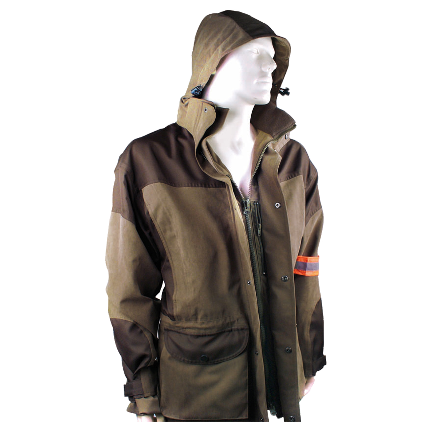 Jacket jacket microfiber reflector man hunting outdoor technical