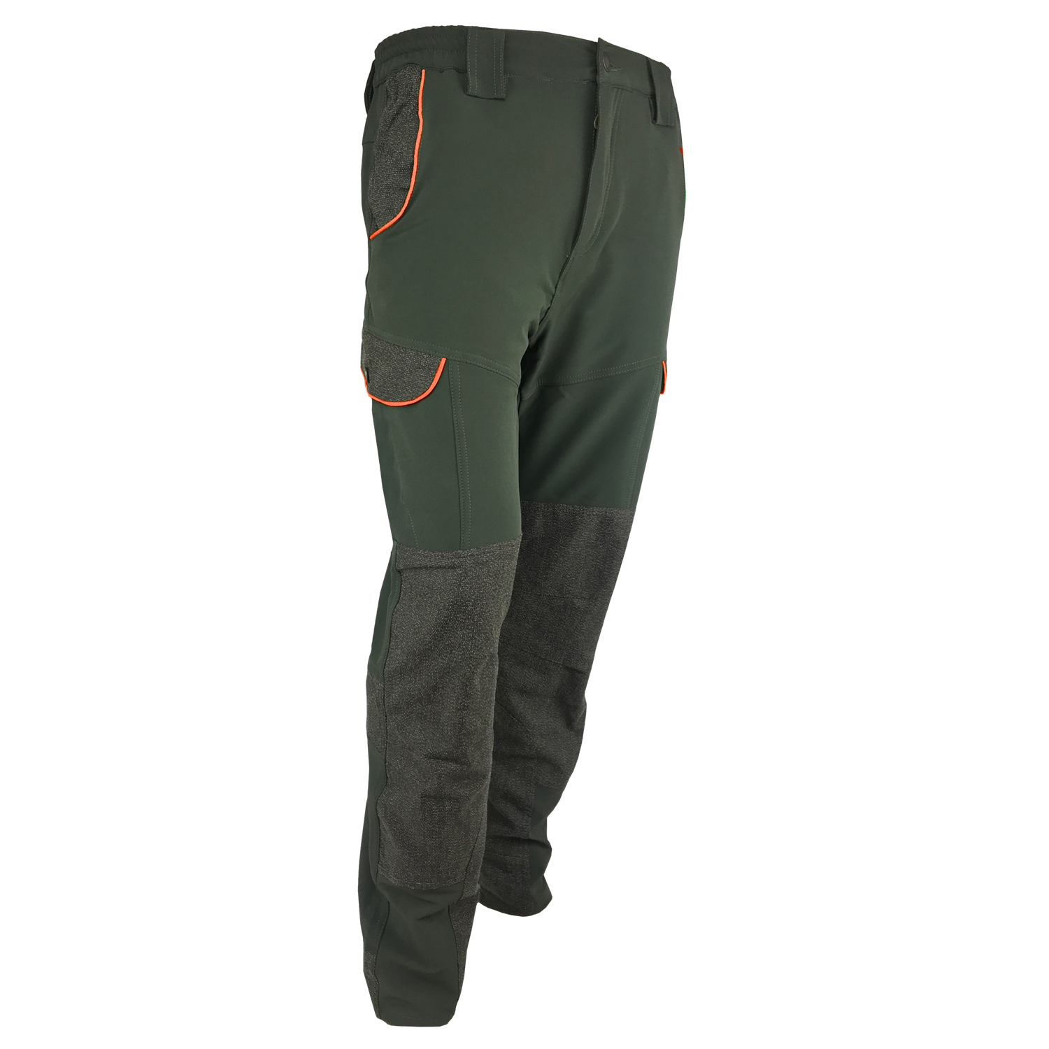 Pants trousers stretch kevlar swaps hunting man outdoor green