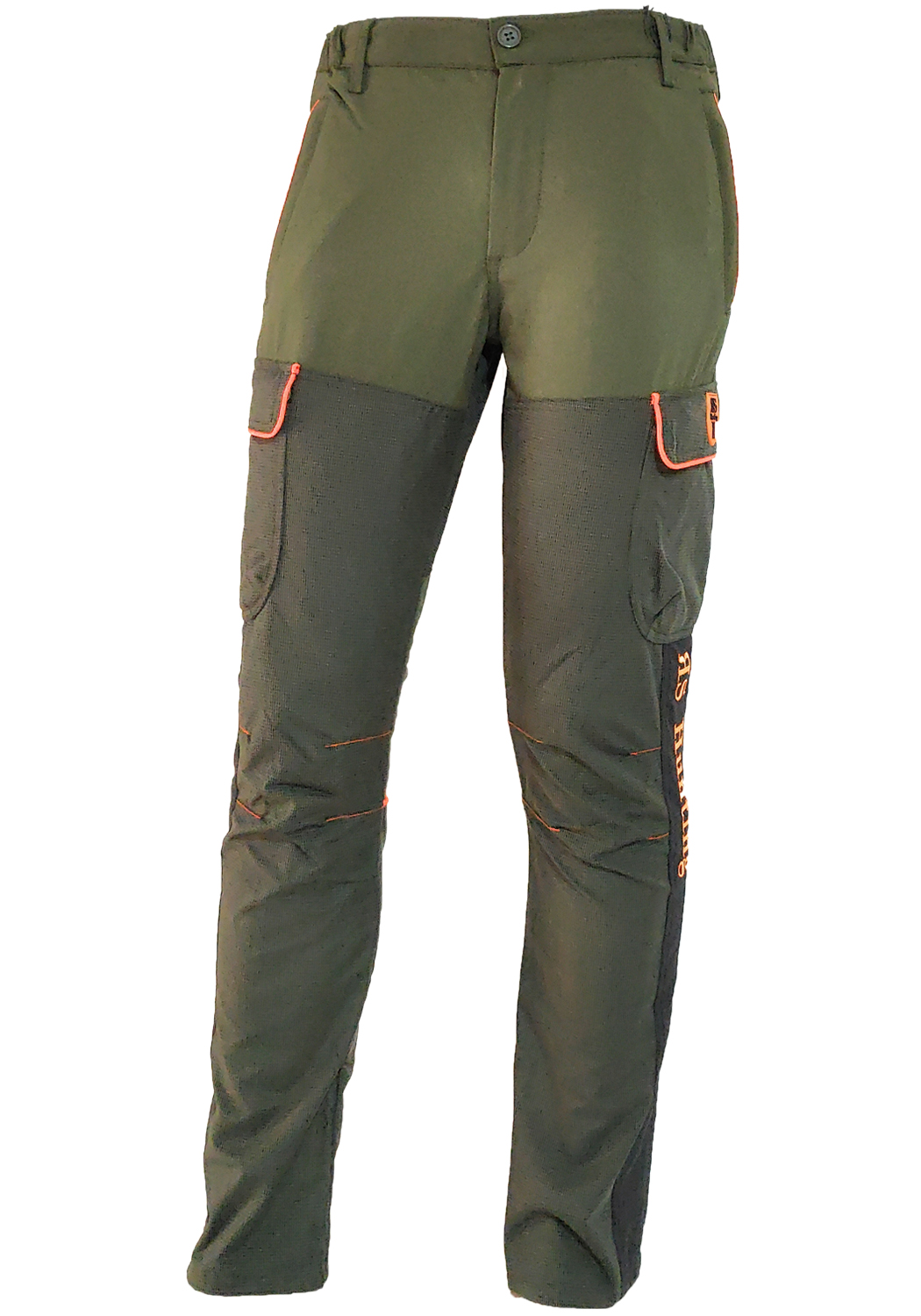 Pants trousers hunting elastic kevlar reinforcements resistant man
