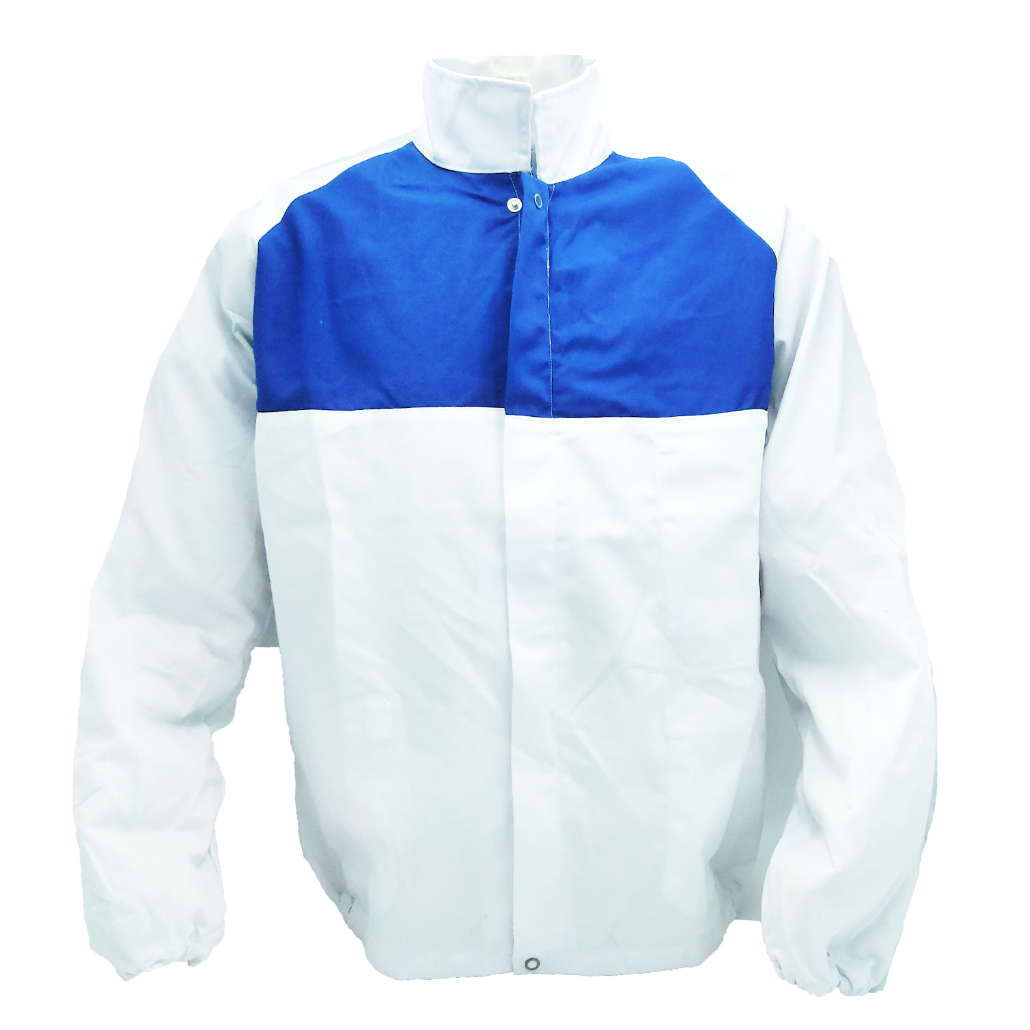 Jacket jacket to work the white man, factory worker, shop decorator cotton