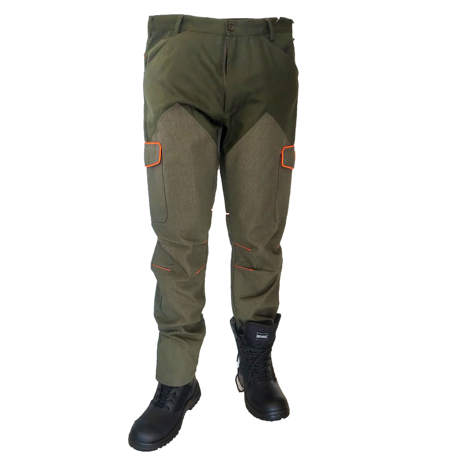 Pants canvas kevlar fishing hunting water-repellent tear-proof, winter