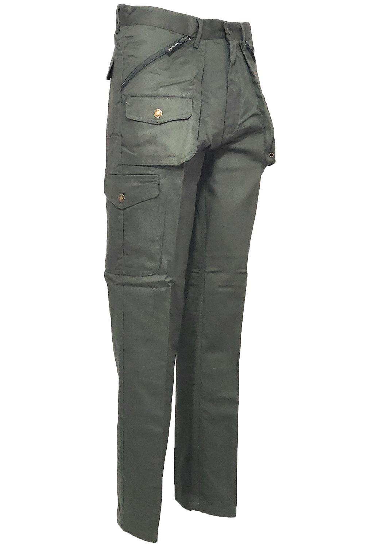 Fratelliditalia Pantalone Sfoderato Cotone Uomo Large Taglie Forti Grandi calibrate Piccole