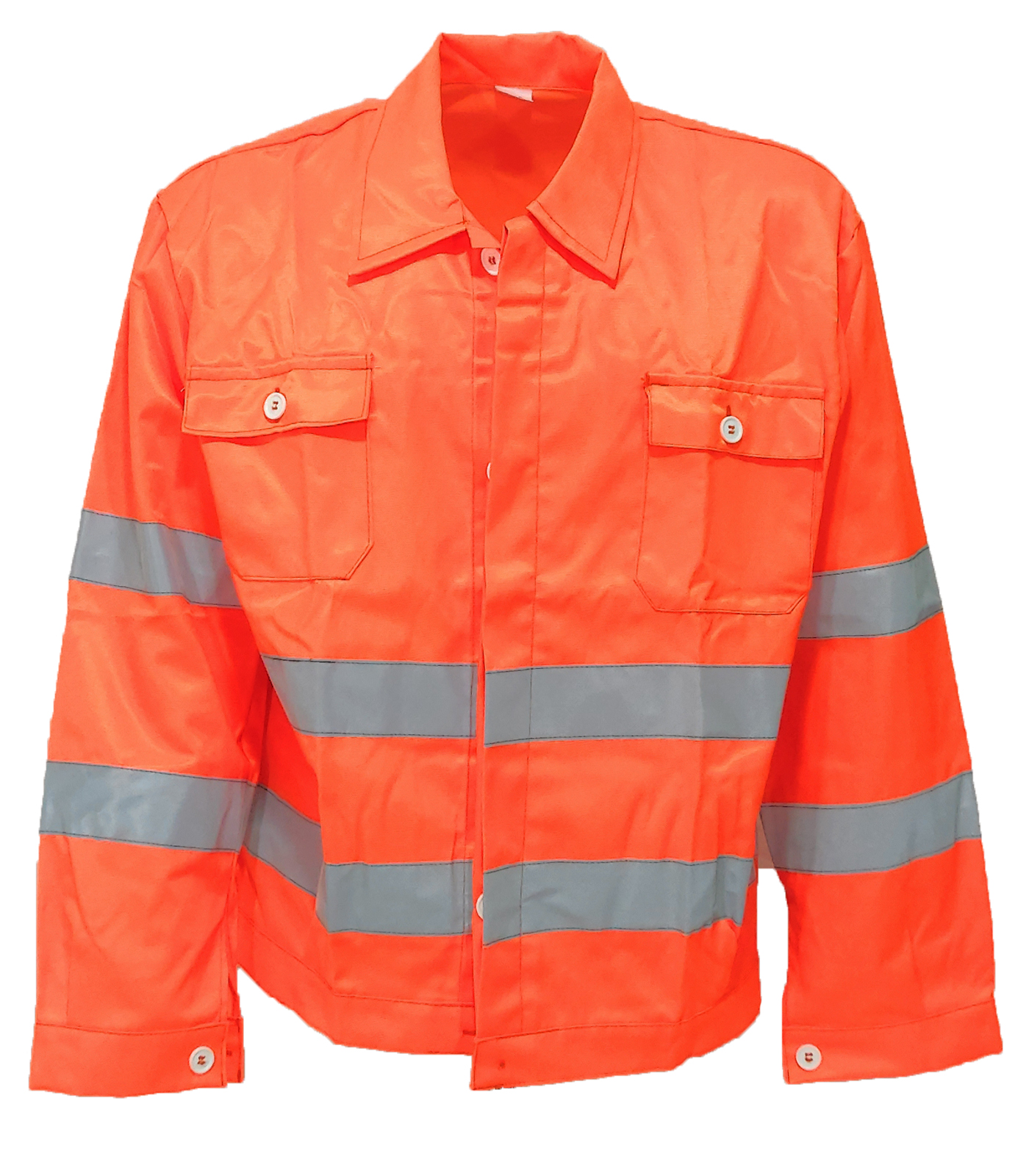 Jacket high visibility orange luminex jacket safety reflective