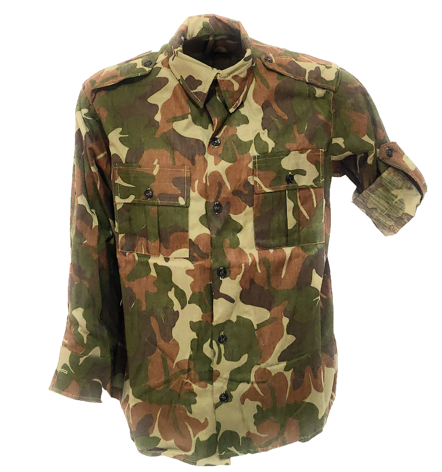 Shirt tunic military the Croatian camouflage cotton men slim
