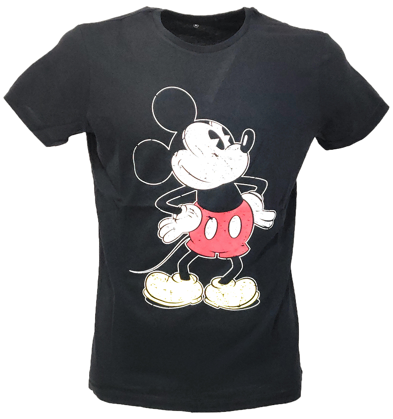 Knit tshirt summer mickey mouse disney boy cotton half sleeves printing