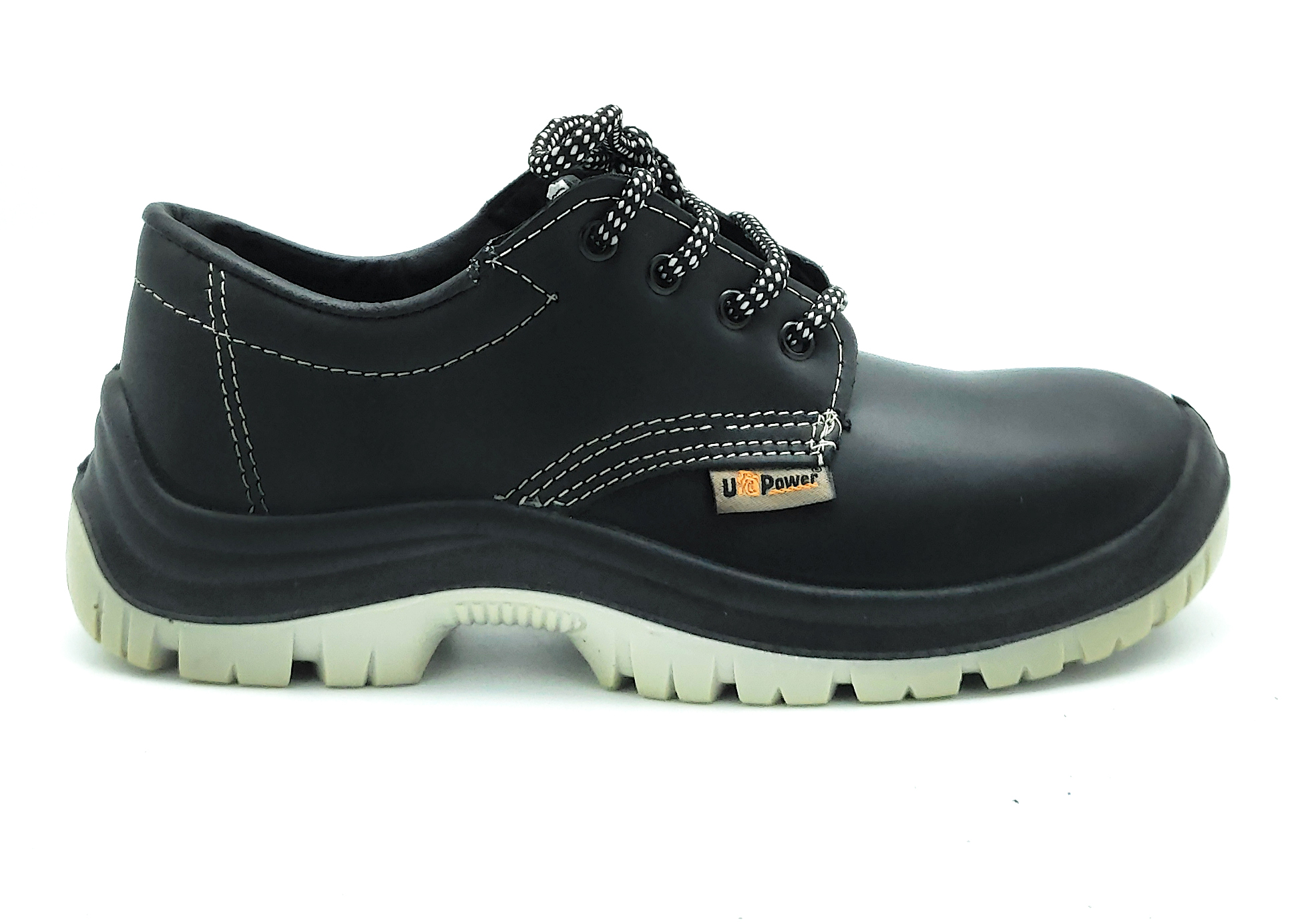 Shoes safety work drivers, non-slip footwear lace-up worker