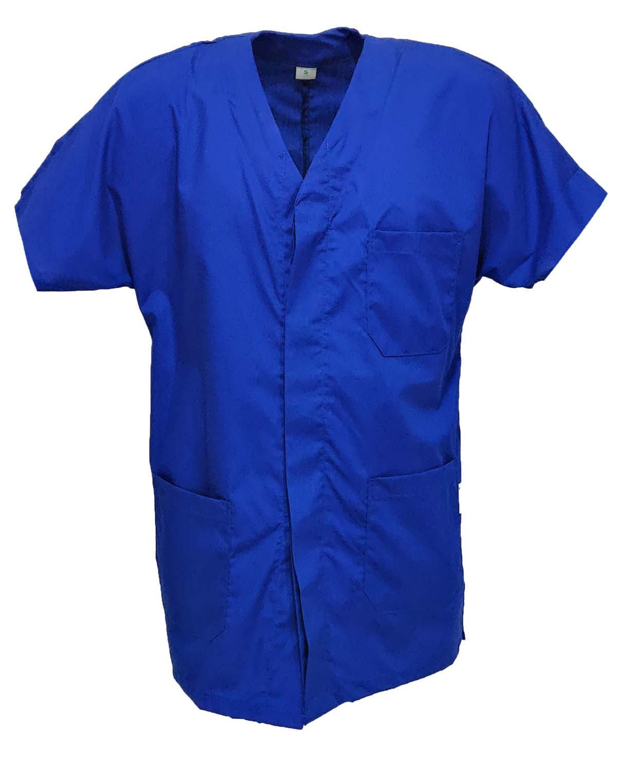 Shirts hospital tunic with button placket clinical short-sleeved hospital
